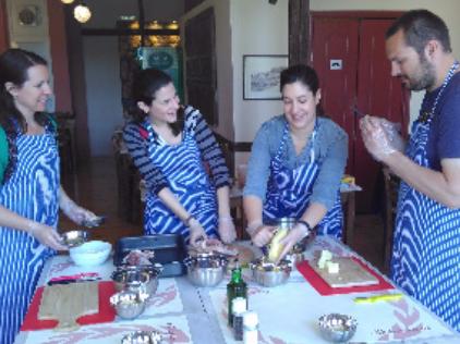 Greek Cooking Class & Market Tour image